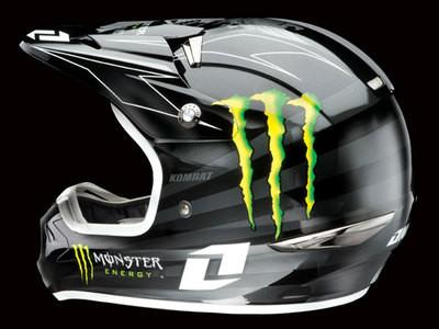 One Industries Monster Evolution Helmet - Press Releases - Vital MX