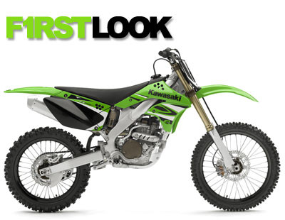 First Look: 2008 Kawasaki KX250F