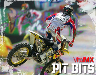Vital MX Pit Bits from the 2008 Seattle Supercross