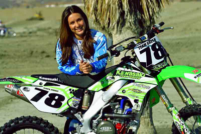 Sara Price Gearing Up for Loretta Lynn's Regional and WMA Amateur Motocross ...