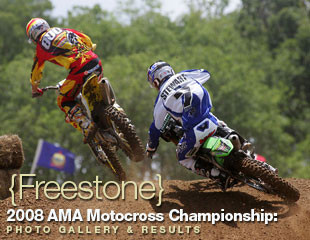 Mike Aless and James Stewart Vital Motocross