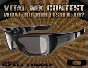 Oakley Thump contest Vital Motocross