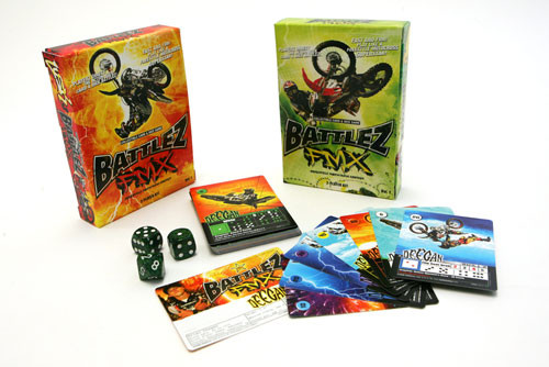 Battlez FMX Collectible Card and Dice Game