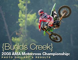 James Stewart Budds Creek 2008 Vital Motocross