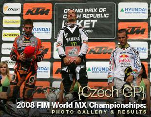 2008 FIM World Championship Motocross Czech GP