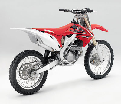 first look: 2009 honda crf450r motocross feature stories