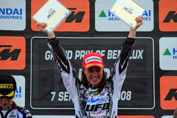Livia Lancelot - The First Ever Women's Motocross World Champion