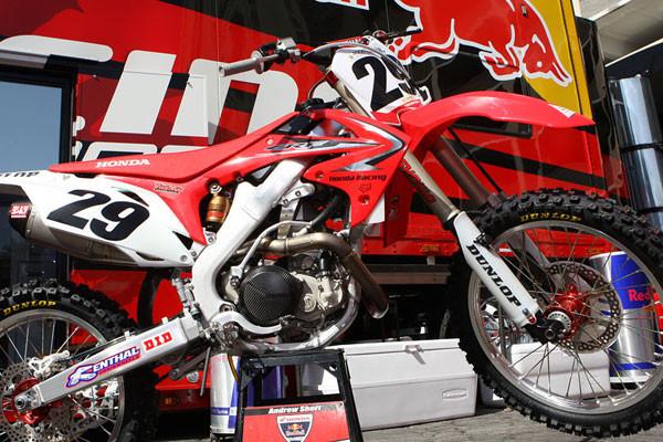 Andrew Short's 2009 Honda CRF450R