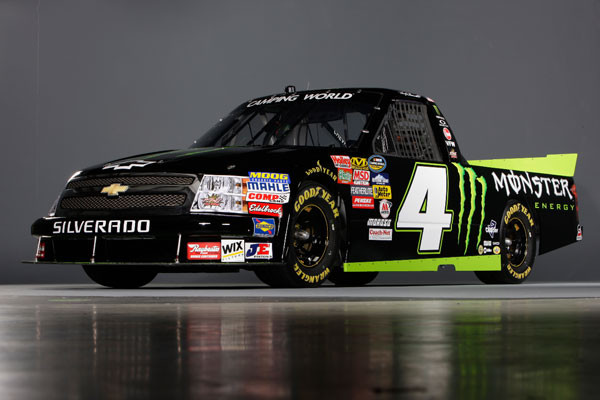 Monster Energy Joins Kevin Harvick Inc. to Sponsor Ricky Carmichael in NASCAR Truck Series