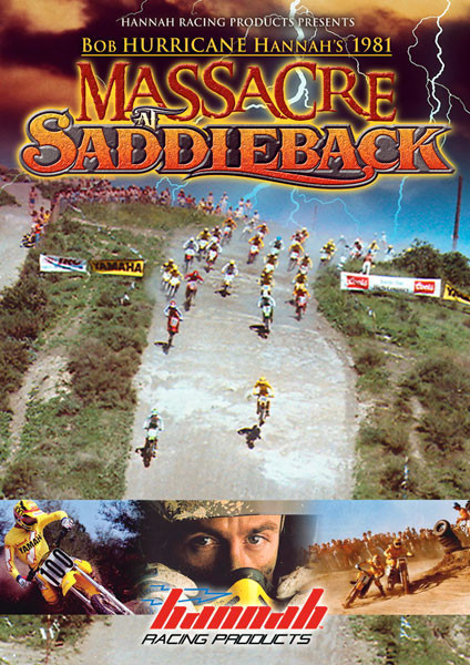 "Bob ""Hurricane"" Hannah's 1981 Massacre at Saddleback DVD to be Released May 22nd, 2009"