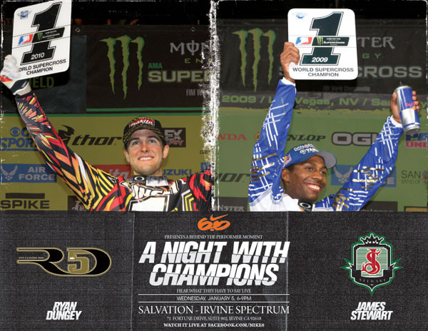 Dungey and Stewart: A Night With Champions