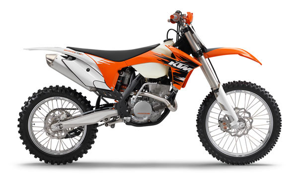 KTM Introduces 2011 250 XC-F & 350 XC-F