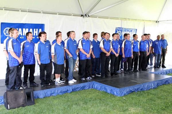 2009 Yamaha teams