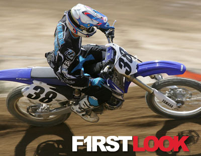 First Look: Riding the 2008 Yamaha YZ450F