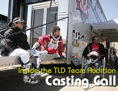 Casting Call: Inside the TLD Team Audition
