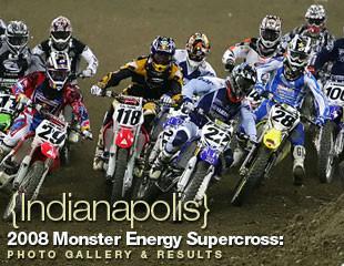 Monster Energy Supercross: Indy 2008 Vital Motocross