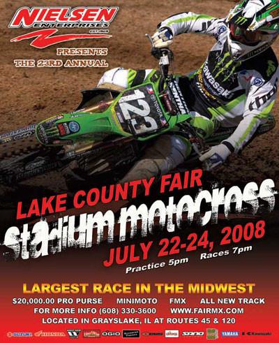Lake County Fair Stadium Motocross