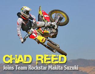 Chad Reed Rockstar Makita Suzuki