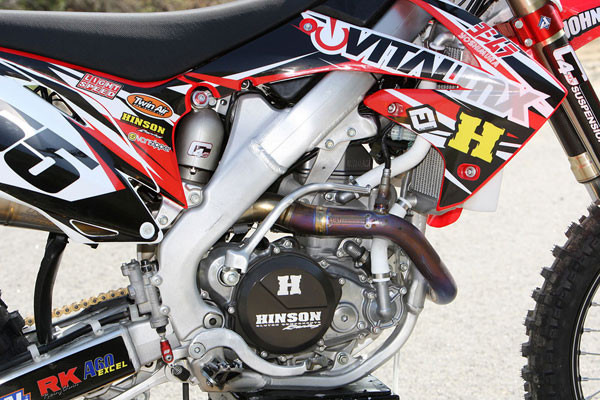 Vital MX Real World Project Bike: 2010 CRF450 - Motocross Feature
