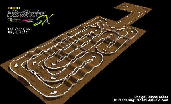 2011 Minimotosx Track Map Revealed Motocross Press Releases Vital Mx