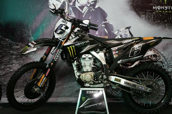 Josh Coppin's Yamaha YZ450