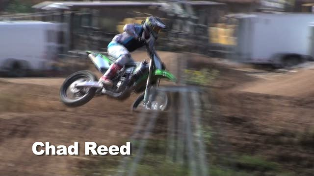 One Lap: Chad Reed on a Monster Energy Kawasaki